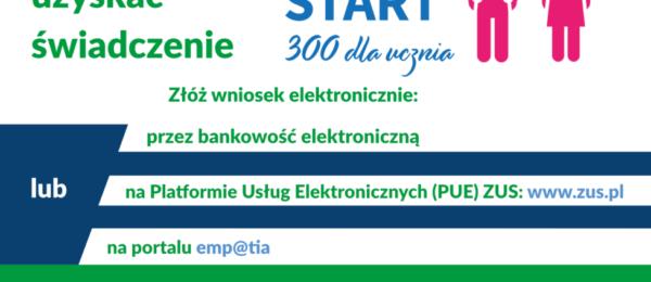 Dobry Start – 300 dla ucznia