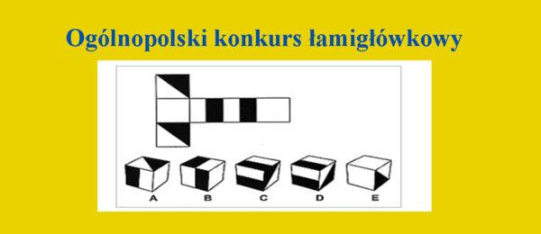 Ogólnopolski konkurs łamigłówkowy